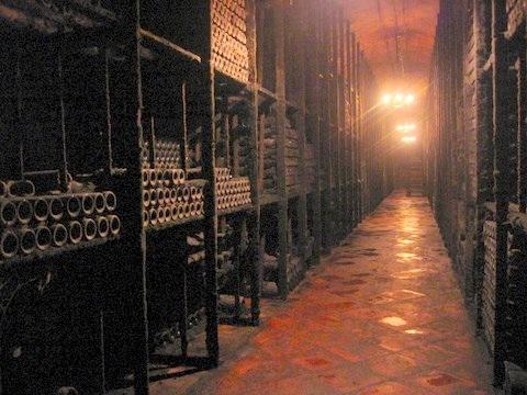 chateau lafite rothschild cellar