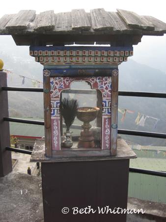 Altar in Bhutan