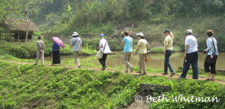 Vietnam Group Trek in Mai Chau