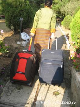 Bhutan Luggage