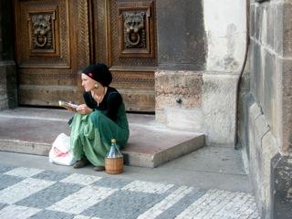 Prague woman