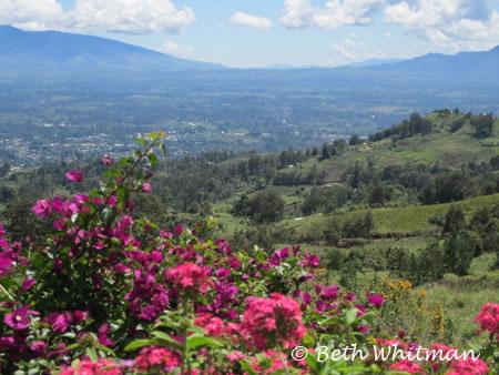 Mt Hagen Valley near Magic Mountain Papua New Guinea