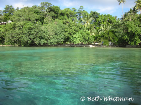 Tawali Waters near Alotau Papua New Guinea