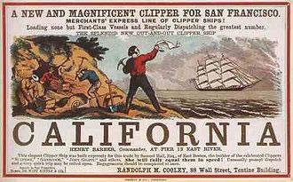 California Clipper Gold rush