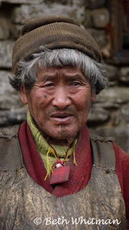 Eastern Bhutan Trek Brokpa - Old Man