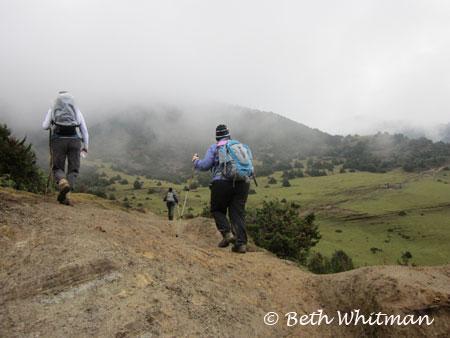 Eastern Bhutan Trek near Merak & Sakten