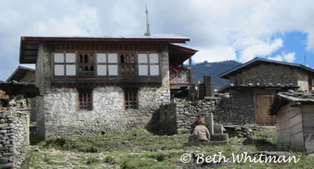 Eastern Bhutan Trek - Village of Sakten