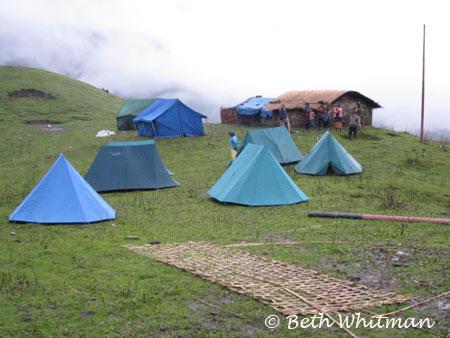 Camp during Eastern Bhutan Trek