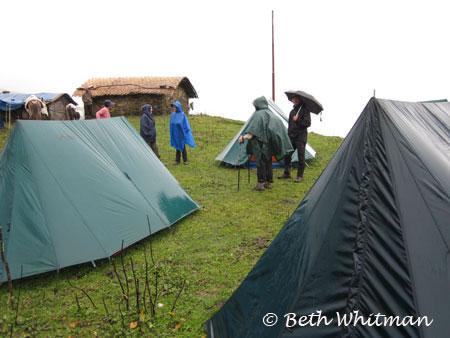 Eastern Bhutan trek camping Merak & Sakten