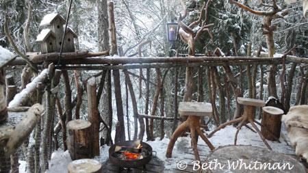 Treetop Hut in Hamar