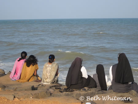 Nuns in Pondicherry