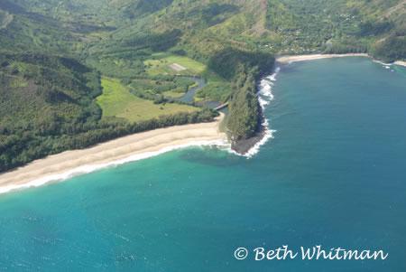 North Shore Kauai Shoreline