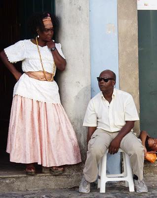 Couple in Salvador