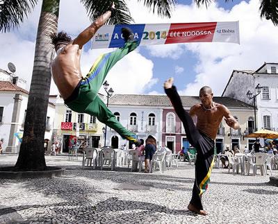 Dancing in Salvador