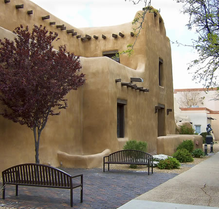 A virtual tour of the santa fe region with photos for Cost to build adobe home