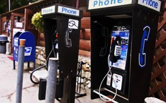 Big Sur Phone booth
