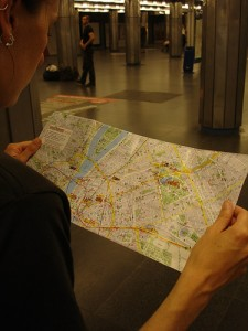Navigating the Budapest subway