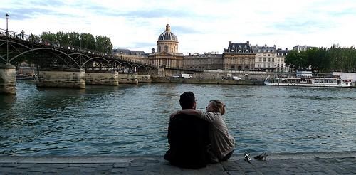 Couple by Seine