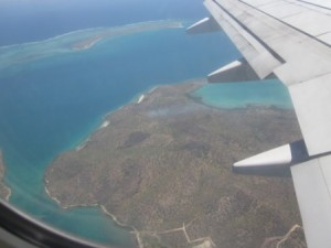 Papua New Guinea from Plane