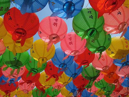 lanterns in seoul