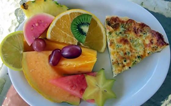 Kauai Fruit Breakfast