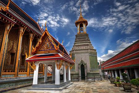 Thailand grand palace