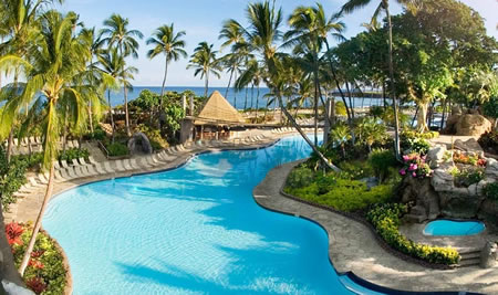 Hilton Waikola Pool