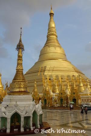 Schwedagon Temple Yangon, Burma