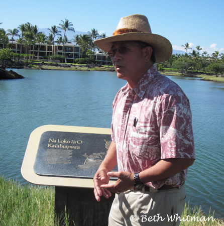 Danny Akaka on the Kohala Coast