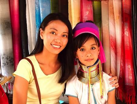 Karen Padung Hill Tribe Girl