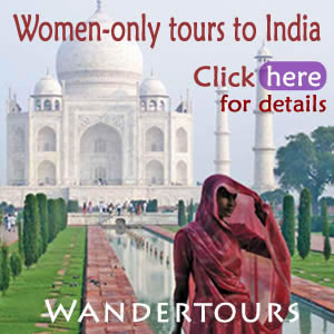 India women-only tour ad