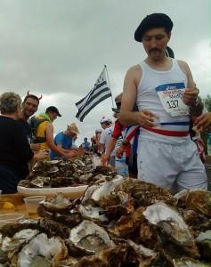Marathon du Medoc Oysters