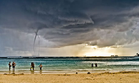 Water Spout in Hawaii