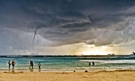 Water Spout in Hawaii