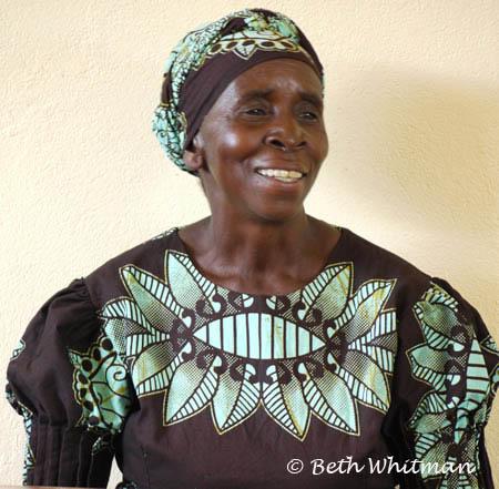 Woman Singer in Zambia