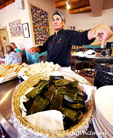 The Art of Tamale Making at the Santa Fe School of Cooking