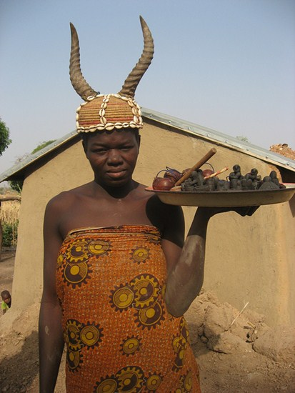 Woman in Koutammakou Togo