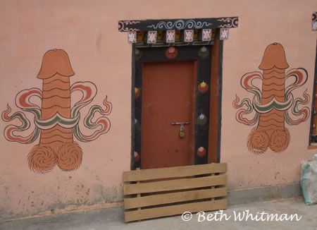 Demystifying Bhutans Magic Phallic Symbols Photo Of The Day