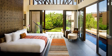 Garden Pool Villa Bedroom