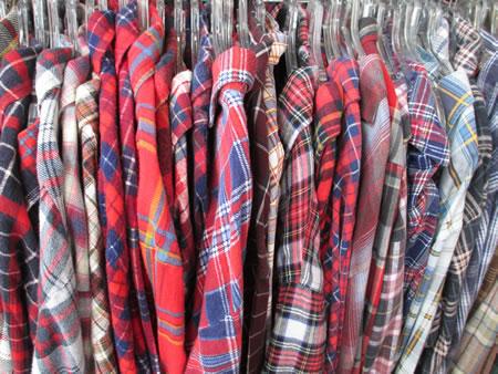 Flannel shirts portland