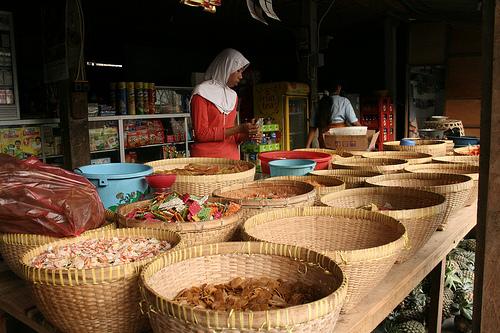 Indonesian Market Stall