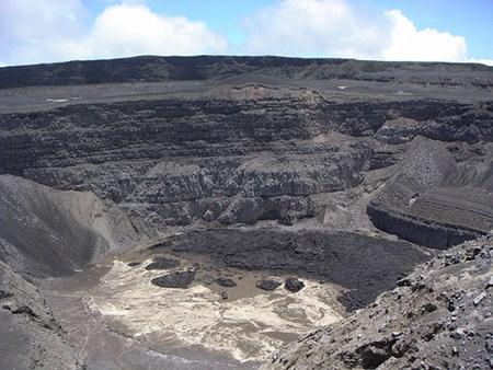 Karthala Crater