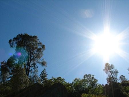 Sunlight Over Mariposa
