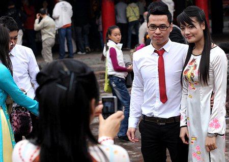 Trendy Vietnamese Couple