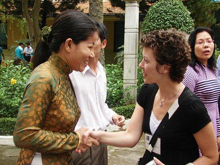 Vietnamese and American Women