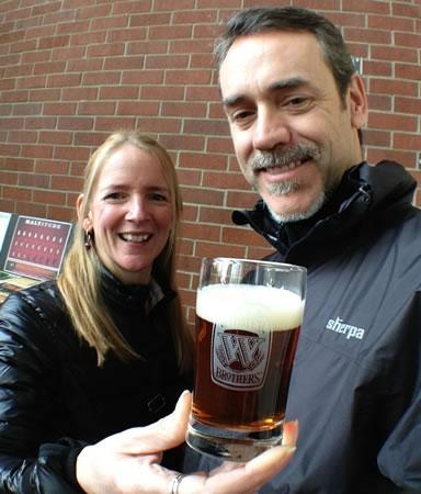 Widmer Brewery Tour