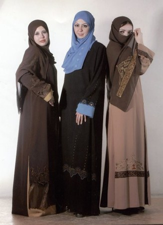 Women in Abayas