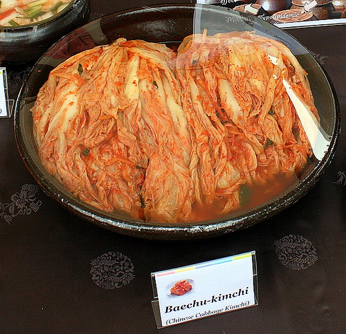 Baechu-kimchi