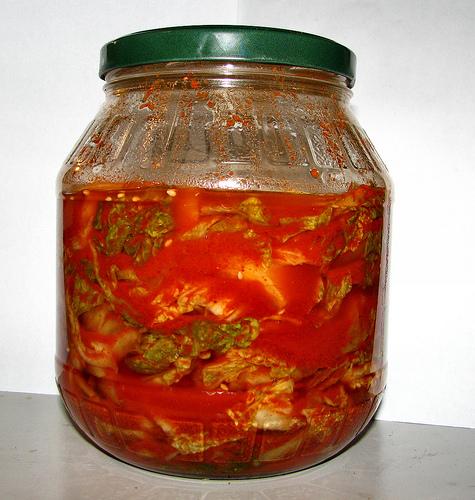 Freshly Made Kimchi