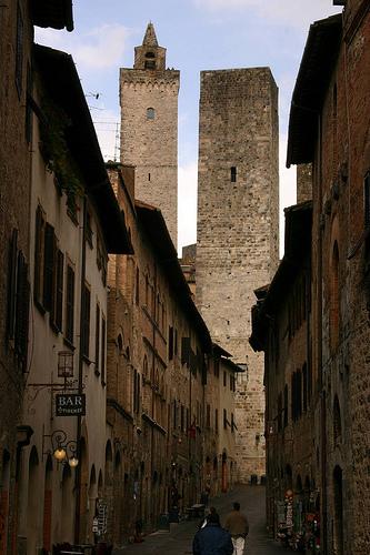 Main Street of San Gigmignano